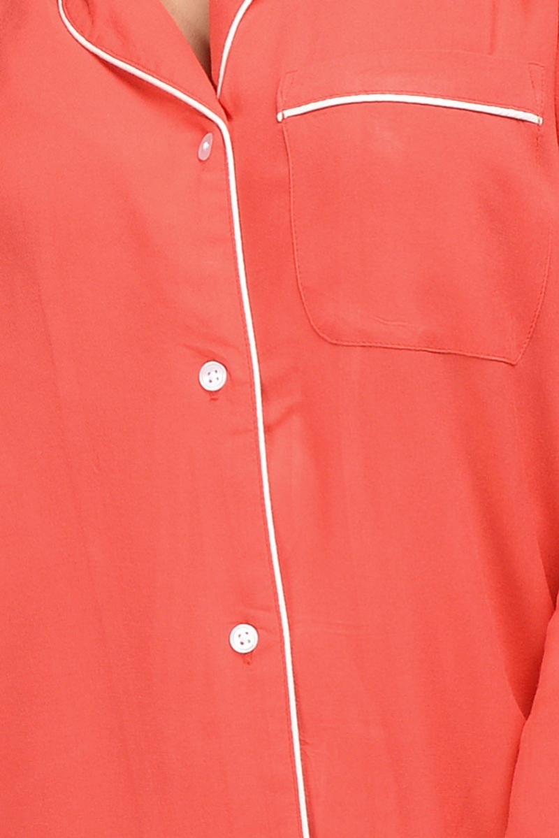 Red Rebellion Sleepshirt