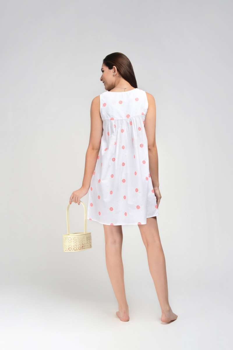 Neon Schiffli Nightdress