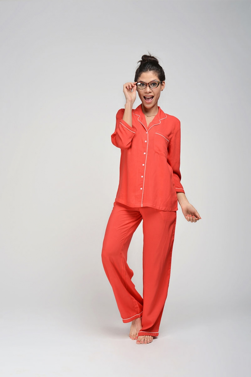 Rebellion Red PJ Set