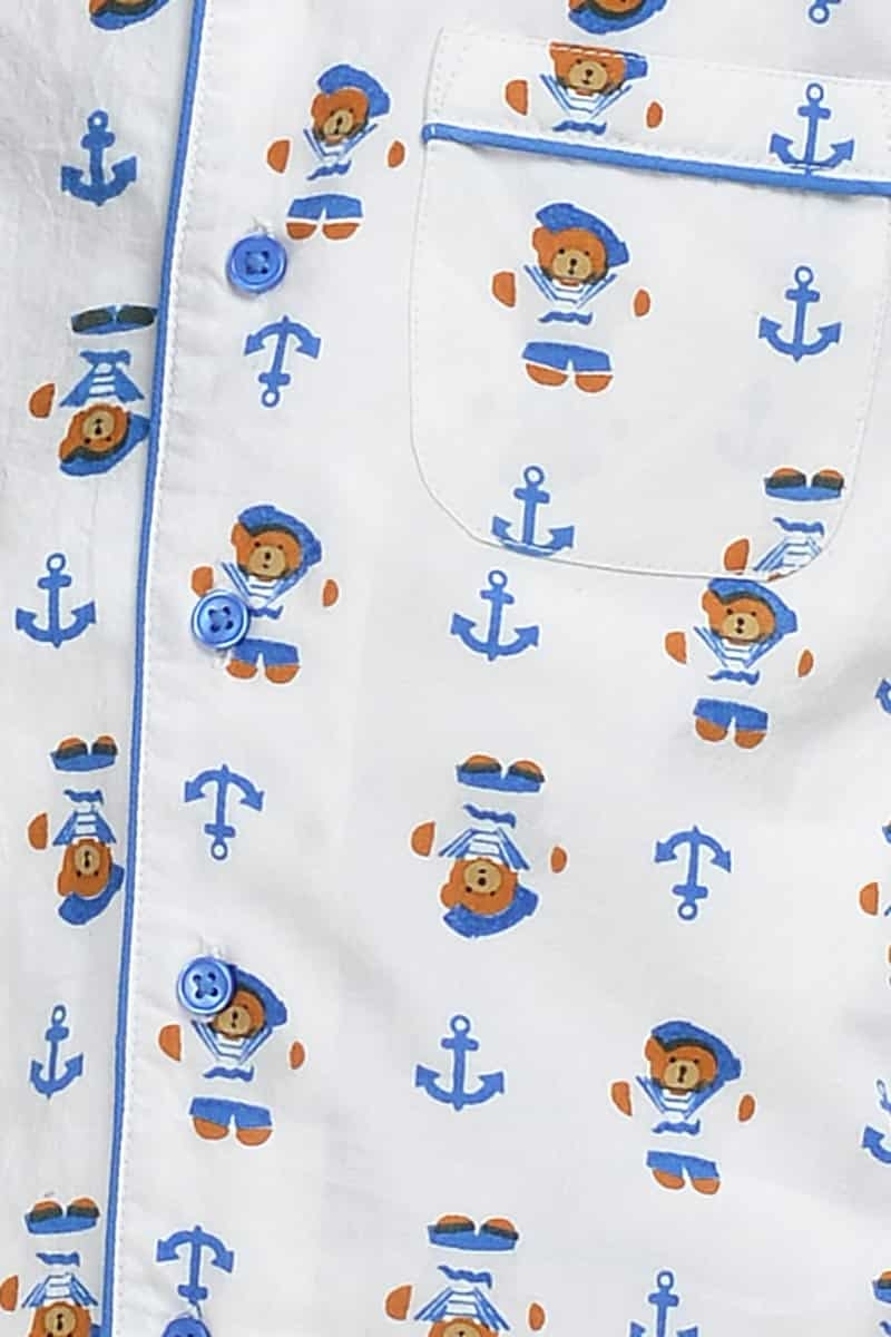 Sailor Teddy PJ Set Boy