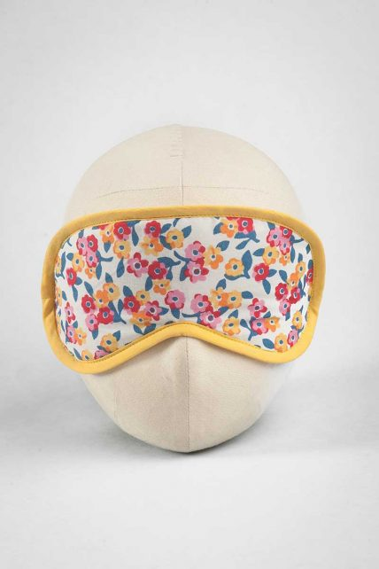 Flower Bunch Print Eye Mask