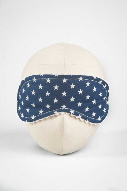 Night Sky Print Eye Mask