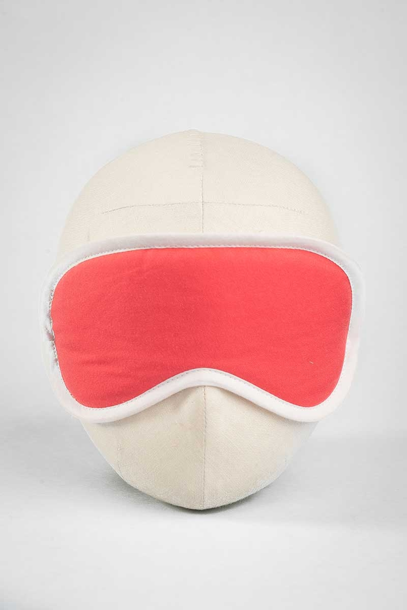 Red Rebellion Solid Eye Mask